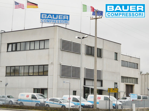 Company building of BAUER Italy