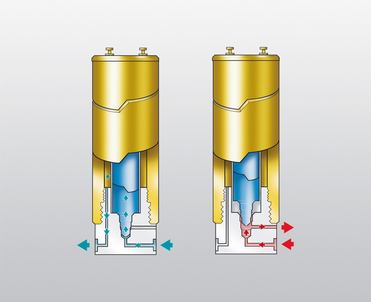 P filter systems for high   pressure    air and gas treatment